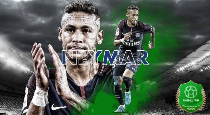 Football Tribe 44 Universal Player Awards: Neymar