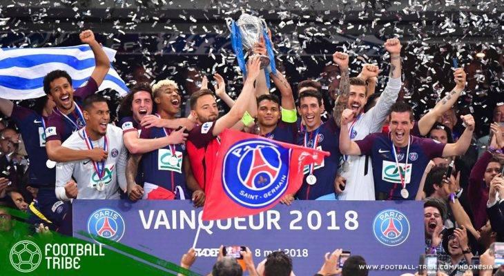 Lumat Les Herbiers, PSG Menangi Piala Prancis