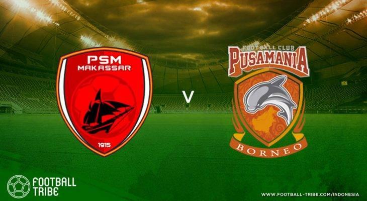 Tribe Rating: Tendangan Geledek Guy Junior Menangkan PSM Makassar atas Pusamania Borneo FC