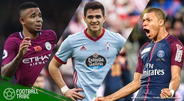 Para Pemain U-21 Terproduktif di Liga-Liga Top Eropa 2017/2018