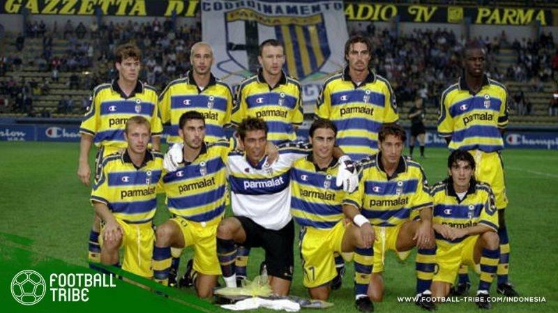 bintang-bintang utama Parma di musim 1998/1999