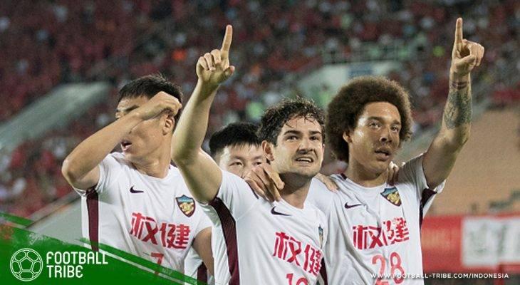 Liga Champions Asia: Alexandre Pato Terbangkan Tianjin Quanjian ke 8 Besar