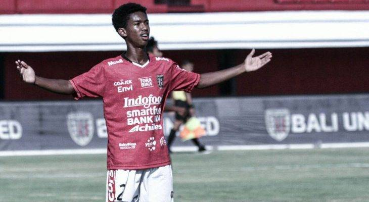Patrick Kallon, Calon Bintang Bali United Keponakan Eks Pemain Internazionale Milano
