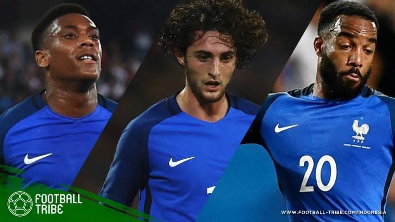 11 pemain yang tak masuk daftar pemain timnas Prancis