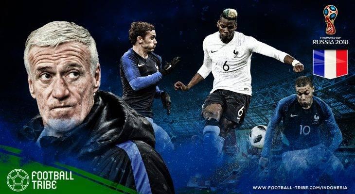 Profil Prancis di Piala Dunia 2018: Ambisi Les Bleus Mengulangi Kejayaan 1998 dengan Generasi Emas 2018