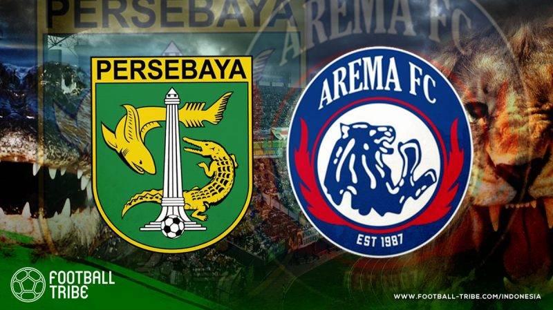 pertemuan Persebaya dan Arema