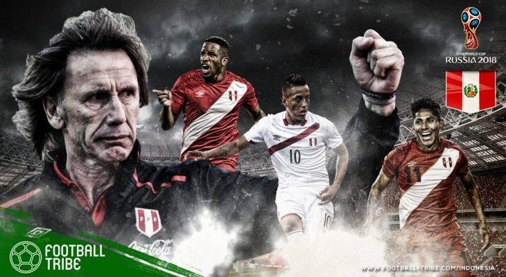 Profil Peru di Piala Dunia 2018: Mengintip Peluang Lolos Grup di Penampilan Perdana Sejak 1982
