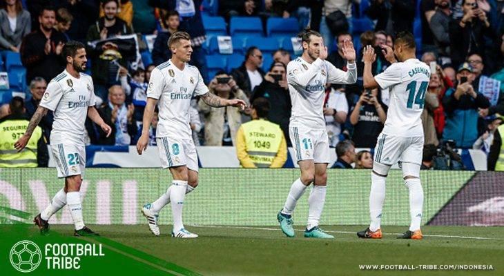 Gareth Bale Gemilang, Real Madrid Rayakan Laga Kandang Terakhir dengan Pesta Gol