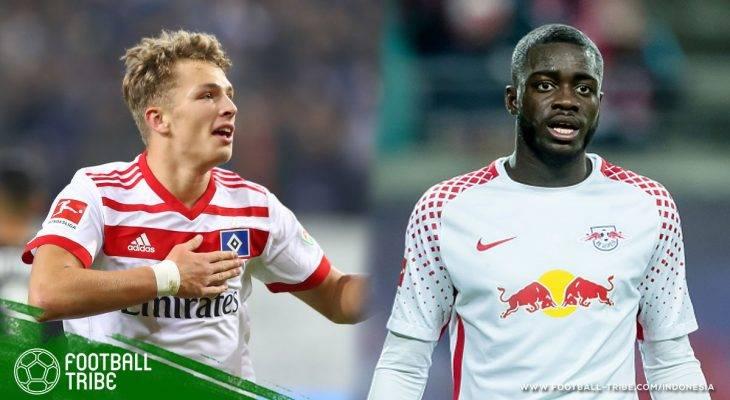 Lima Rising Star Terbaik di Bundesliga 2017/2018