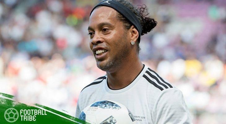 Ronaldinho akan Menikahi Dua Kekasihnya pada Hari yang Sama