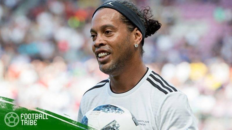 kedua pacar Ronaldinho