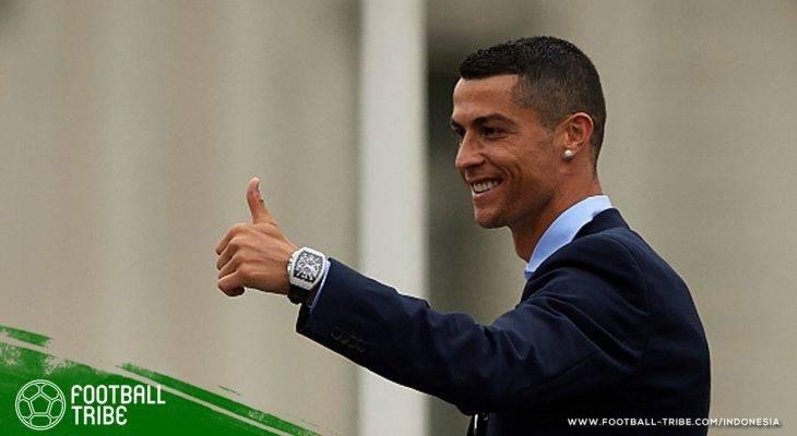 Agen Cristiano Ronaldo Sedang Berada di Paris, Negosiasi dengan Paris Saint-Germain?