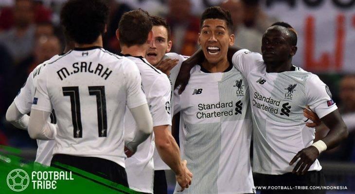 Trio Firmino Mane Salah yang Mampu Ciptakan Keajaiban Bagi Liverpool di Liga Champions Musim Ini
