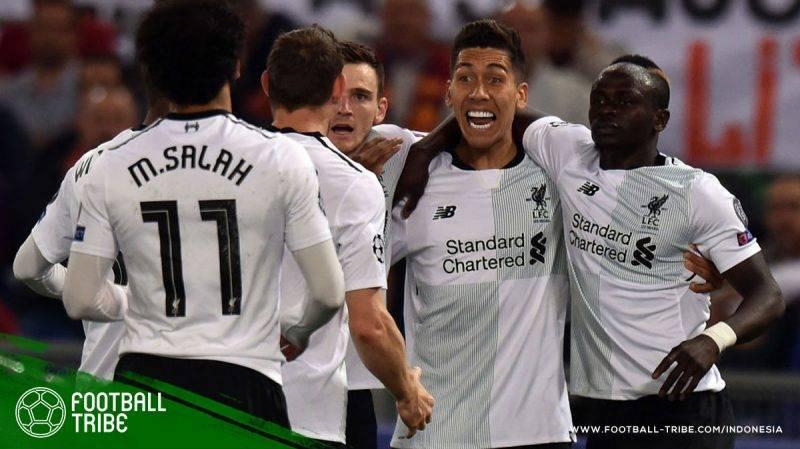 AS Roma melawan Liverpool