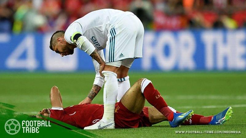 Ramos menjadi sasaran kemarahan