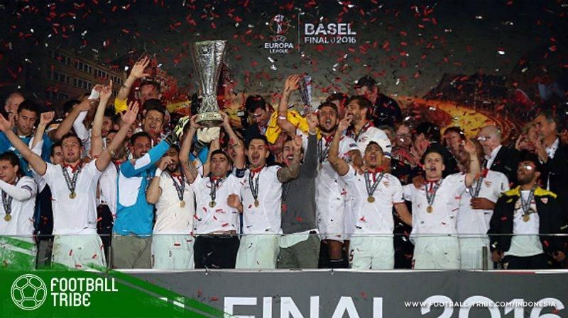 Trofi Liga Europa kelima Sevilla