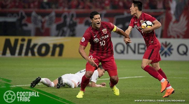 Liga Champions Asia: Dua Gol Hulk Tak Mampu Selamatkan Shanghai SIPG
