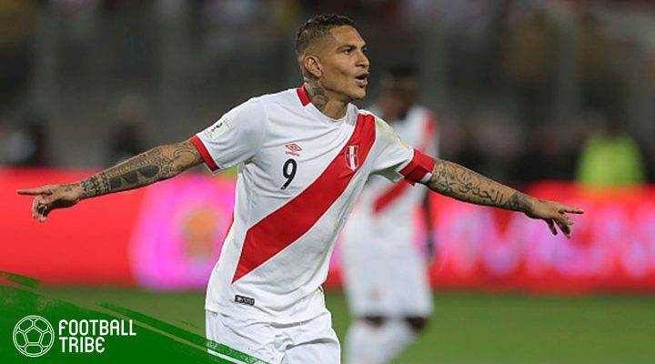 Seruan Kapten Timnas Grup C agar Paolo Guerrero Dapat Tampil di Piala Dunia