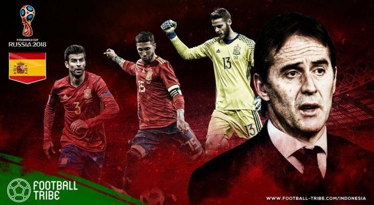 Profil Spanyol di Piala Dunia 2018: Usaha Matador Merebut Kembali Trofi Emas
