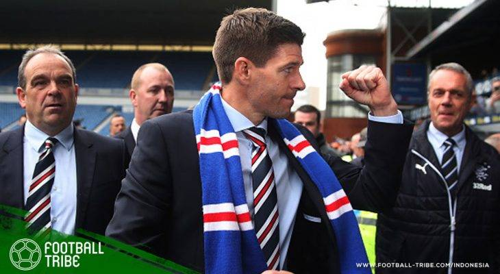 Mengaku Respek, Steven Gerrard Tetap Ingin Kalahkan Brendan Rodgers