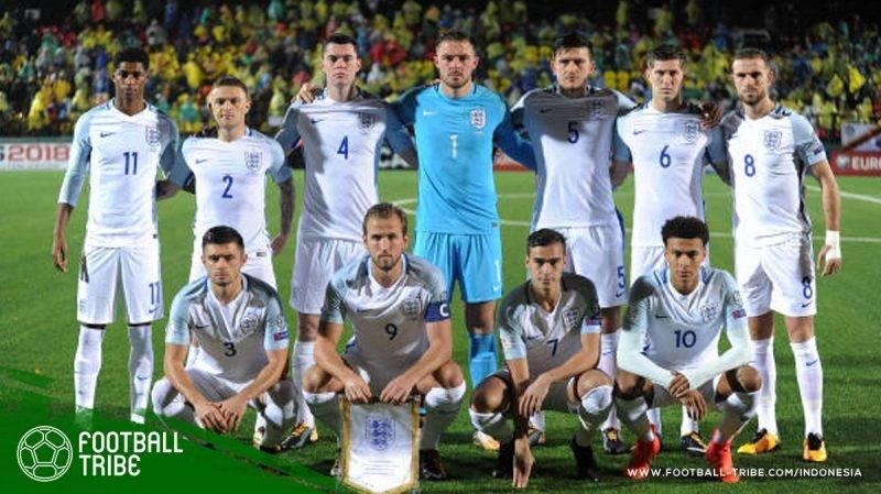 timnas Inggris baru saja mengumumkan 23 pemain