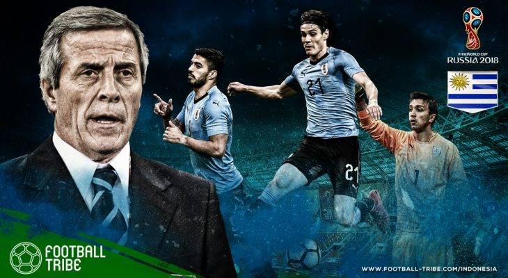 Profil Uruguay di Piala Dunia 2018: Si Kuda Hitam yang Siap Menebar Kejutan
