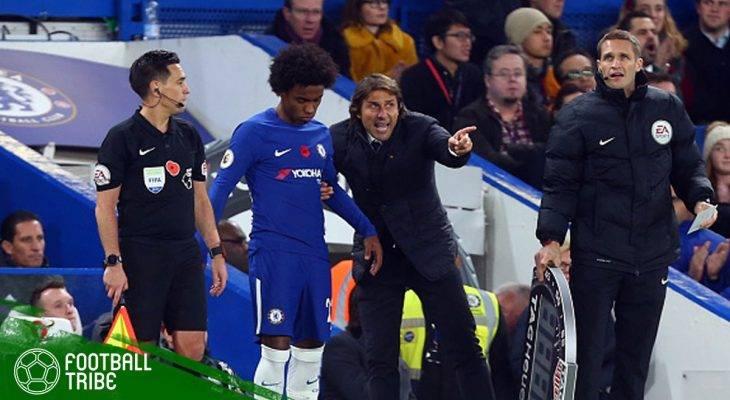 Willian Siratkan Ketidaksukaan terhadap Antonio Conte via Unggahan di Instagram