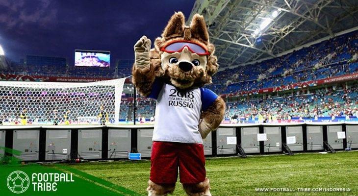 Parade Maskot Piala Dunia dari Masa ke Masa, Mulai dari Singa hingga Serigala