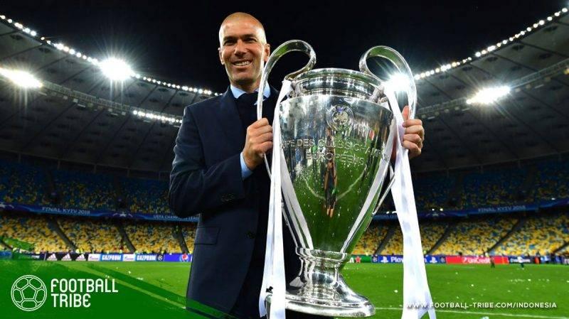 Zidane berhasil menambah koleksi gelar