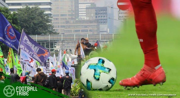 Relasi Erat dan Panjang antara Buruh dengan Sepak Bola Indonesia