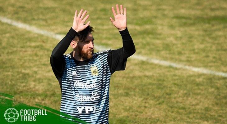 Lionel Messi Sebut Argentina Bukan Favorit di Piala Dunia
