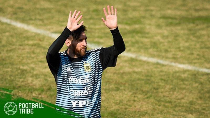 Messi menegaskan bahwa negaranya