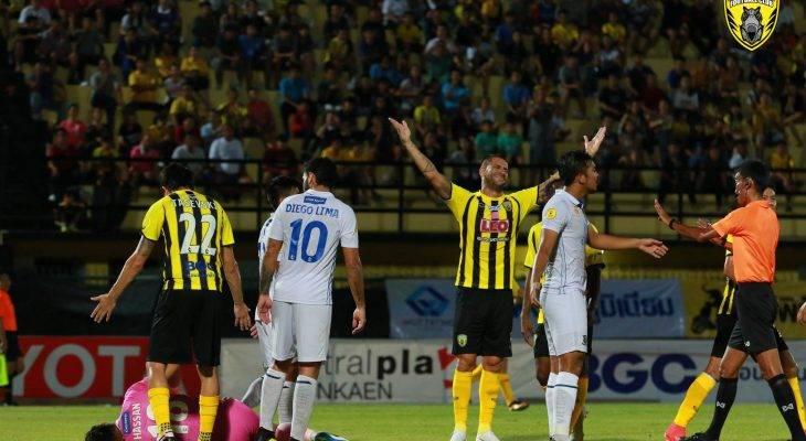 Tanpa Yanto Basna, Rekor Kandang Khon Kaen FC Tercoreng