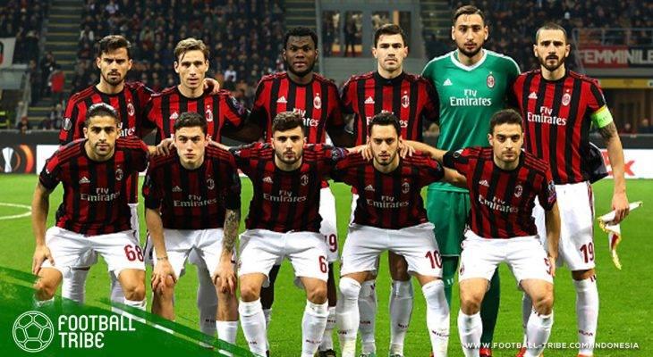AC Milan Kemungkinan Besar Didiskualifikasi dari Liga Europa