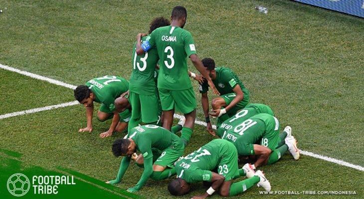 Piala Dunia 2018, Arab Saudi vs Mesir: Kemenangan Pertama Arab Saudi dan Dua Rekor Essam El-Hadary