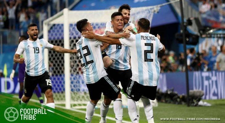 Piala Dunia 2018, Argentina  Nigeria: Tawa Argentina, Tangis Nigeria
