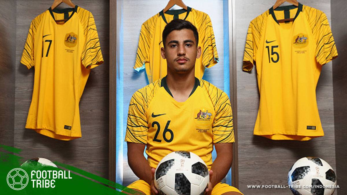 Daniel Arzani, Wonderkid Australia Keturunan Iran yang Menjadi Pemain Termuda di Piala Dunia 2018