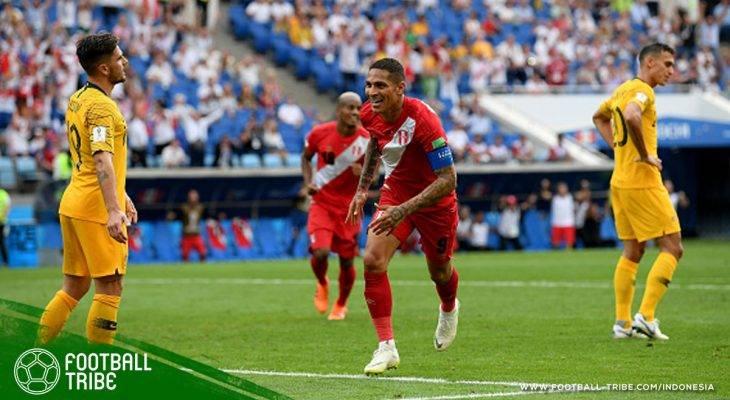 Piala Dunia 2018, Australia vs Peru: Setidaknya, La Blanquirroja Pulang dengan Sebuah Kemenangan