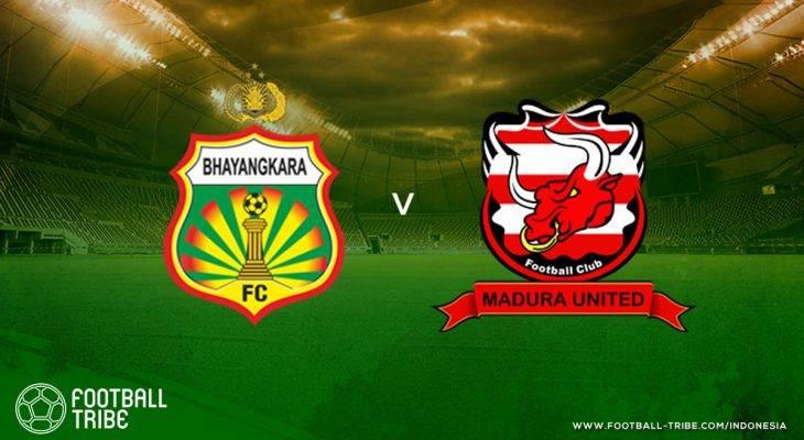 Tribe Rating: Madura United Kalah Lagi dari Bhayangkara FC