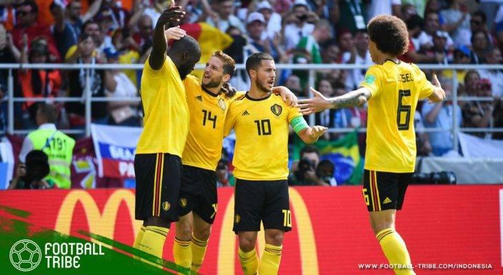 Piala Dunia 2018, Belgia vs Tunisia: Pesta Gol Setan Merah yang Mengantar ke 16 Besar