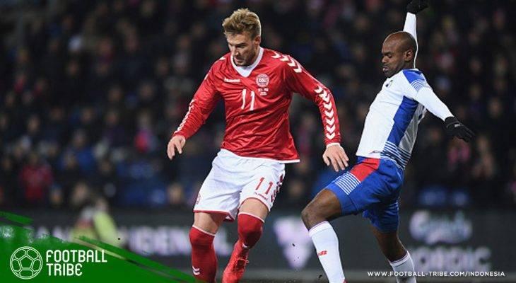 Cedera, 'Lord' Bendtner Terpaksa Harus Melupakan Piala Dunia 2018