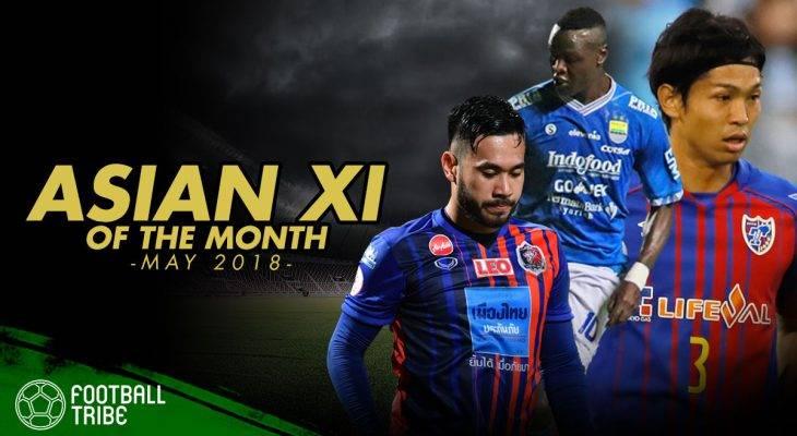 Best XI Asia Edisi Mei 2018