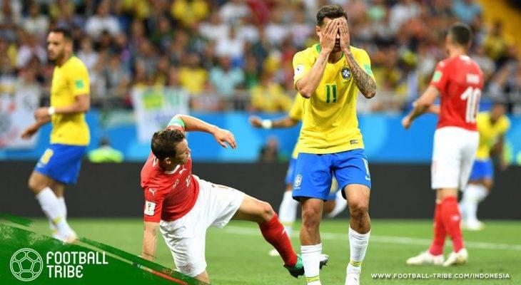 Piala Dunia 2018, Brasil vs Swiss: Ketika Anak Pantai Mendaki Gunung