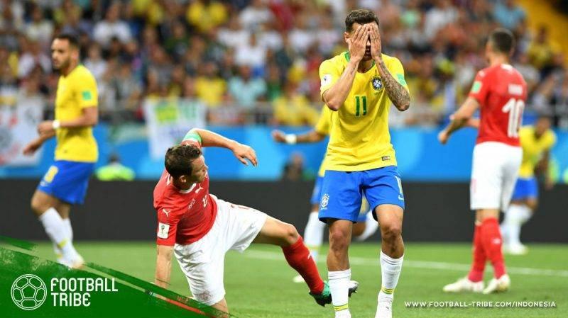 Brasil melawan Swiss