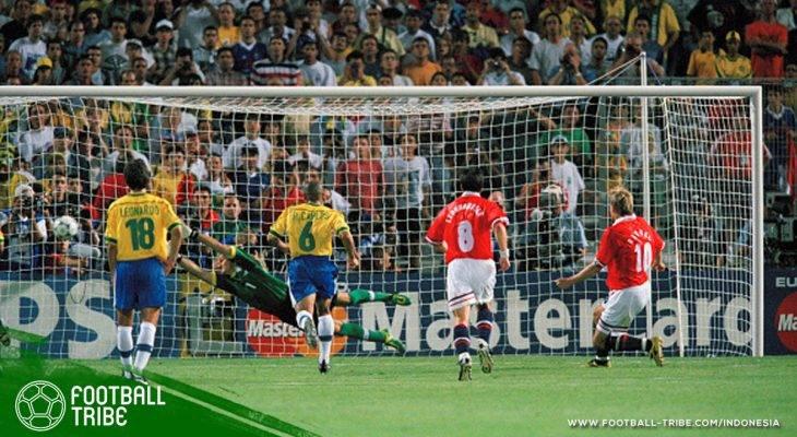 23 Juni 1998: Saat Generasi Emas Norwegia Meluluhlantakkan Brasil dengan Gol Kontroversial