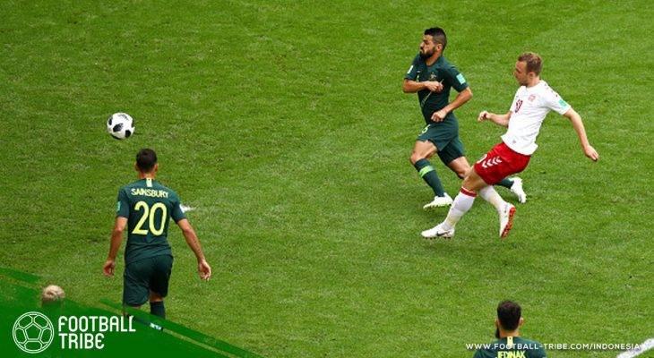 Piala Dunia 2018, Denmark vs Australia: Dinamit Denmark yang Batal Meledak di Samara