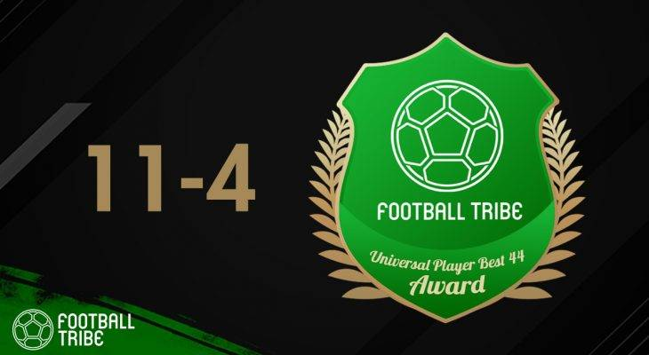 Football Tribe 44 Universal Player Awards: Peringkat 11-4