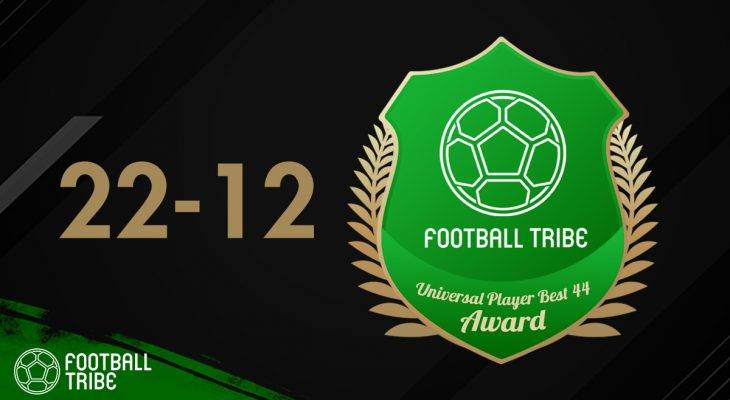 Football Tribe 44 Universal Player Awards: Peringkat 22-12