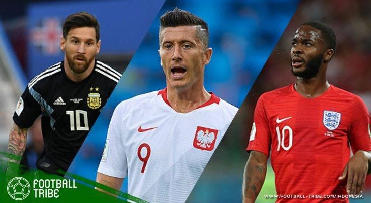 Dicari! Nama-nama Besar yang Hilang di Ronde Pertama Piala Dunia 2018