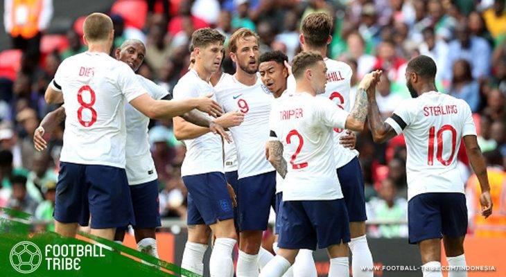 Inggris Kalahkan Nigeria, Raheem Sterling kembali jadi Sorotan